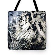 Eyjafjallajokull Glacier And Ashes Tote Bag