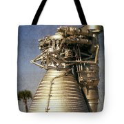 F-1 Rocket Engine Tote Bag