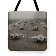 F-16 Fighting Falcons, Kunsan Air Base Tote Bag