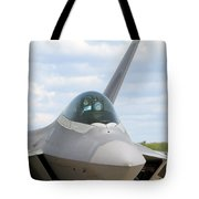 F-22 Raptor Lockheed Martin Air Force Tote Bag