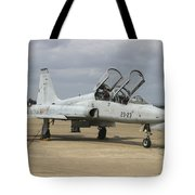 F-5 Tiger II Used As A Lead-in Trainer Tote Bag