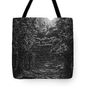 Pen And Ink Clouds 1 Tote Bag