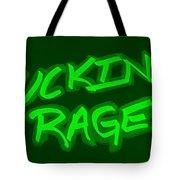 F R Green Tote Bag