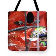 F1 Driver Felipe Massa Tote Bag