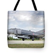 F4e Phantom II  Aircraft Tote Bag