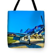 F4u Corsair My Marines Dream  Tote Bag