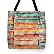 Fabric Colours Tote Bag by Tom Gowanlock