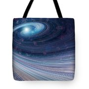 Fabric Of Space Tote Bag by Fran Riley