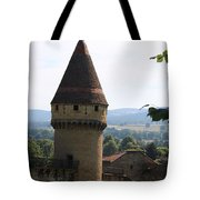 Fabry Tower - Cluny - Burgundy Tote Bag