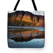 Fabulous Fjord Landscape Of Norway Tote Bag