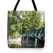 Fabyan Bridge Tote Bag