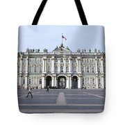 Facade Of A Museum, State Hermitage Tote Bag