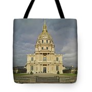 Facade Of The St-louis-des-invalides Tote Bag