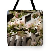 Facades And Fruit Trees Tote Bag