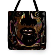 Face 15 Tote Bag by Natalie Holland