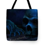 Face Boo Tote Bag