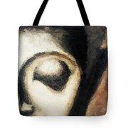 Face Embossed Tote Bag