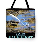 Face First Tote Bag