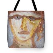 Face Five Tote Bag