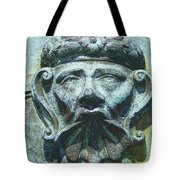 Face In The Cannon Tote Bag