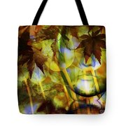 Face In The Rock Dreams Of Tulips Tote Bag