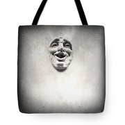 Face In The Wall Tote Bag