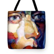 Face Of A Woman Tote Bag