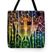 Face Of Chaos Tote Bag