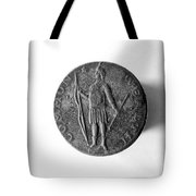 Face Of Copper Cent, 1788 Tote Bag