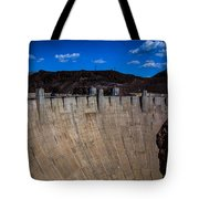 Face Of The Dam Tote Bag
