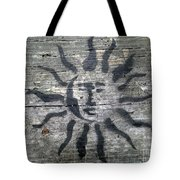 Face Of The Sun Tote Bag