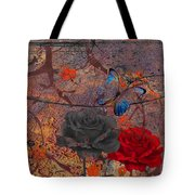 Face The Thorns  Tote Bag