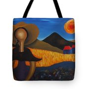 Faceless Doll Tote Bag