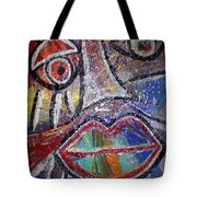 Faces In Life Collection Tote Bag