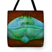 Faces In Lomoish Tote Bag