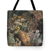Faces Of Eternity Tote Bag