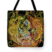Faces Of Life Tote Bag
