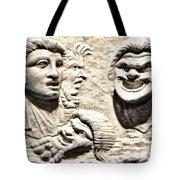 Faces Of Pompeii Tote Bag