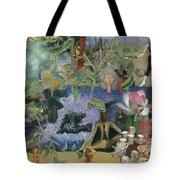 Faces Of Rebirth Tote Bag