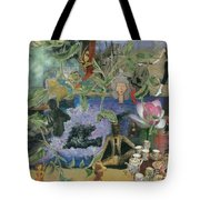 Faces Of Rebirth Tote Bag