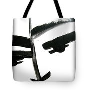 Faces Of Sky 7 Tote Bag