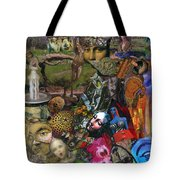 Faces Of The Goddess Tote Bag