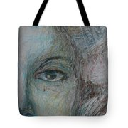 Faces - Right Tote Bag