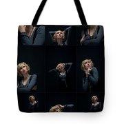 Facial Expression Tote Bag by Ralf Kaiser