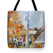 Facing South Tote Bag
