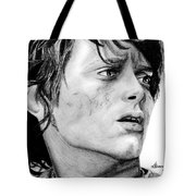 Facing The Darkness Tote Bag