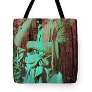 Fade Into The Woods Tote Bag