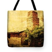 Faded Building Tote Bag