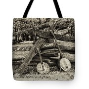 Faded Country Time Banjos Tote Bag
