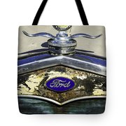 Faded Ford Tote Bag